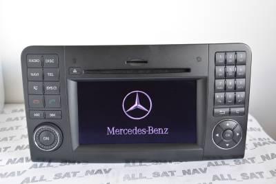Mercedes Comand APS NTG2.5 W164 ML GL sat nav 6CD/DVD ...