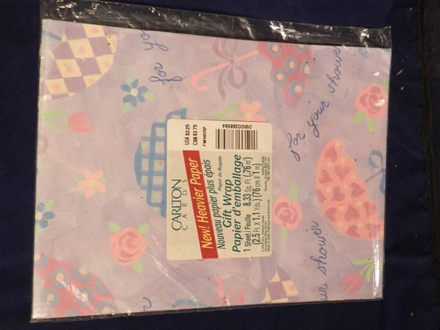 Wedding Gift Drop Box : Older Gift Wrap ENGAGEMENT WEDDING Use Drop Down Box to Choose. NOS ...