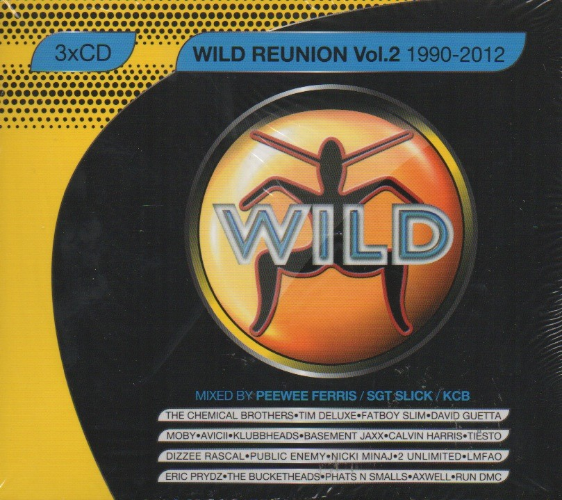 WILD-REUNION-VOL-2-1990-2012-Peewee-Ferris-Sgt-Slick-KCB-3CD-Central-Station