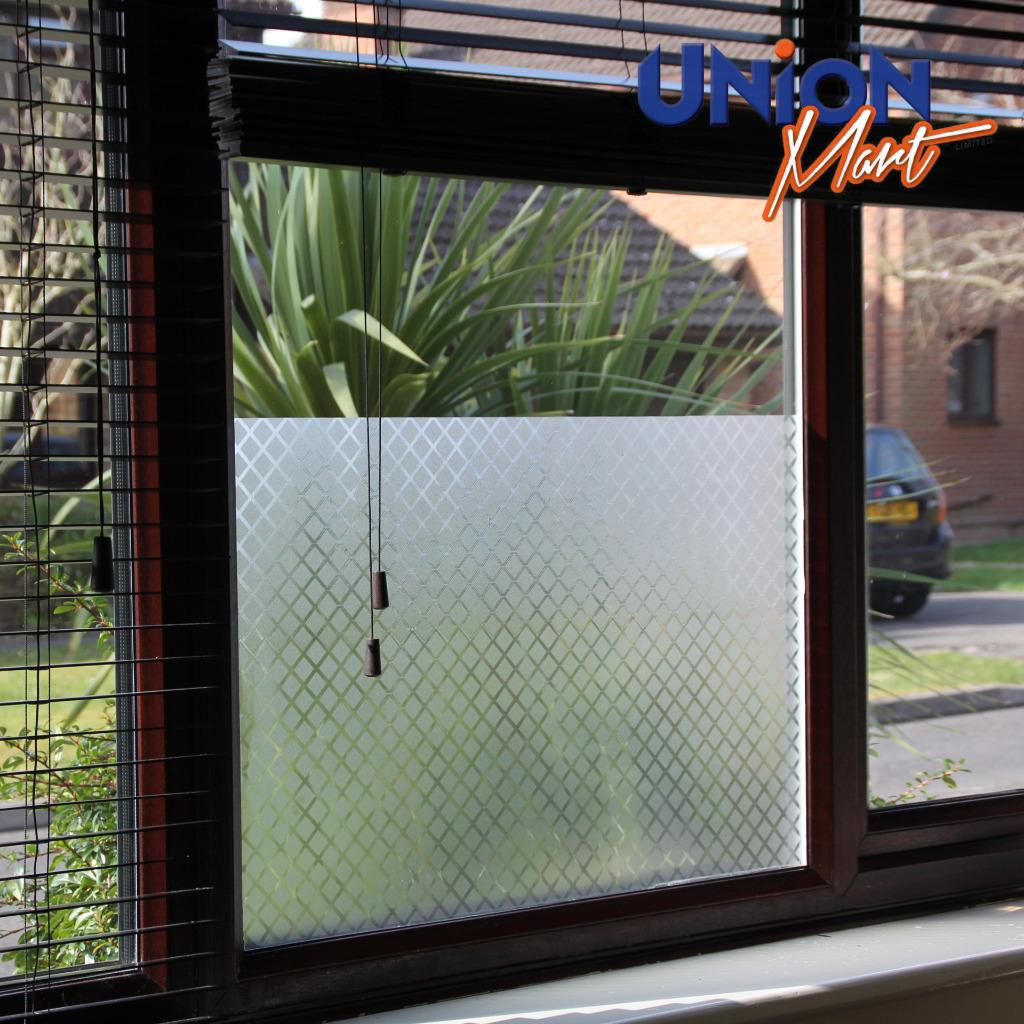 frosted window film privacy door glass vinyl tint self. Black Bedroom Furniture Sets. Home Design Ideas