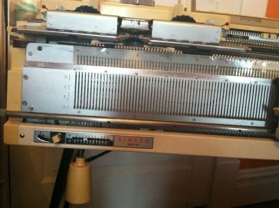 Knitmaster, Empisal, Silver Reed Knitting Machine