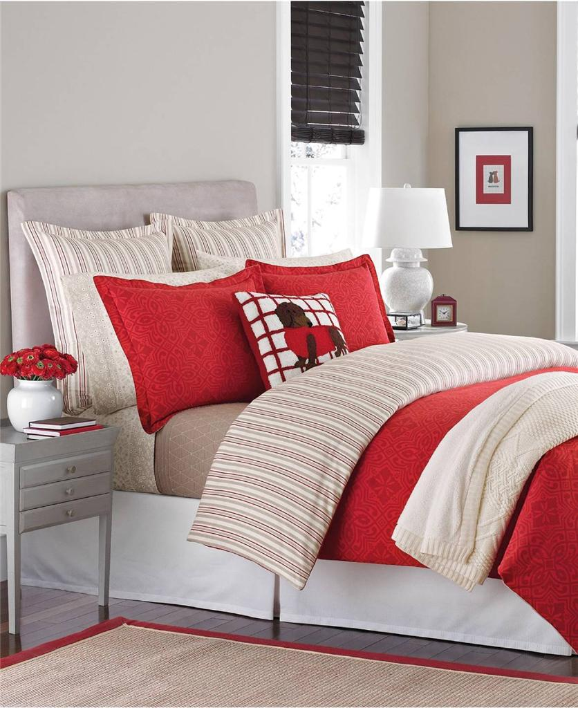 Martha Stewart Collection Bedding Gallery Tile Flannel