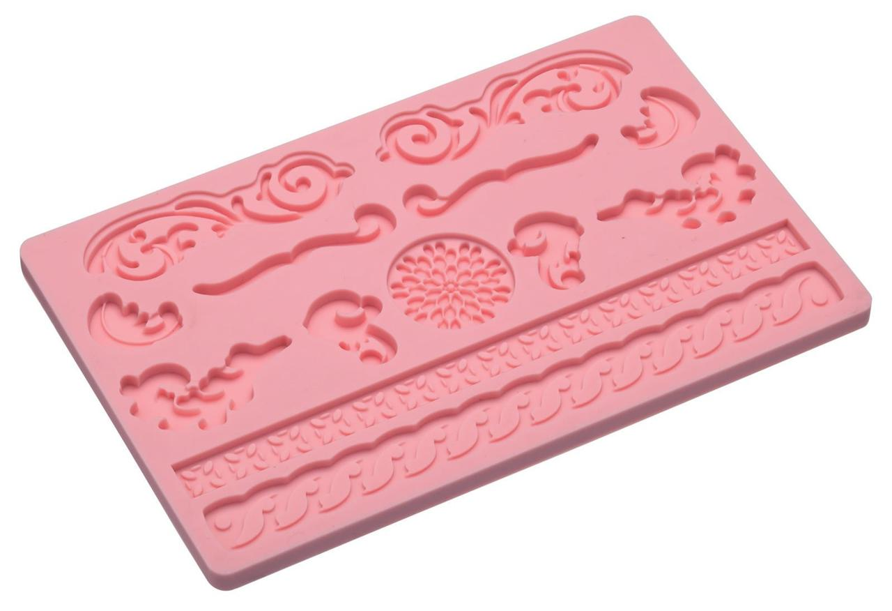 Silicon Shapes Fondant Moulds Easy Release Cake Icing ...