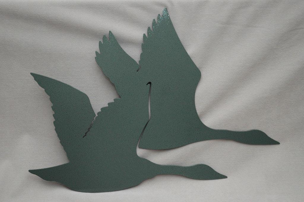 canada geese in flight home decor metal wall art goose2 ebay
