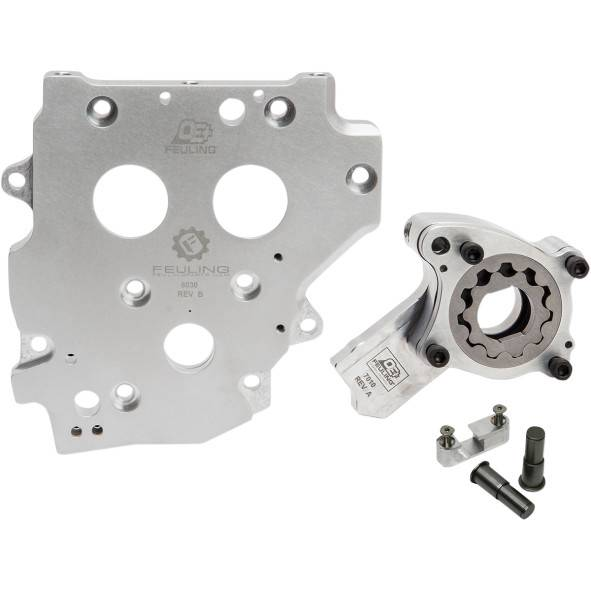 Chain Driven Pumps : Feuling oe cam plate oil pump kit for harley twin