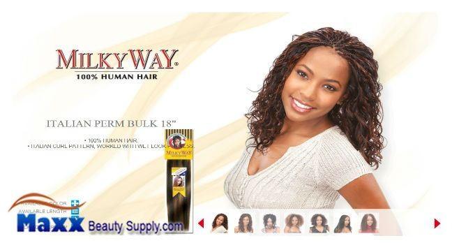 Related Pictures milkyway braid italian perm bulk 18 inch human hair