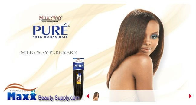 Milkyway human hair weave pure yaky 2499 maxxbeautysupply color on model p430 milkyway pmusecretfo Image collections