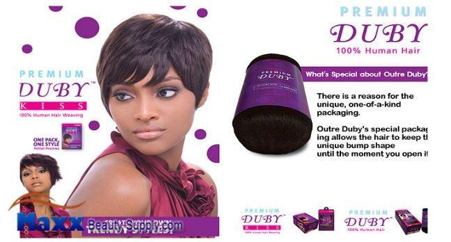 Outre Premium Collection 100 Human Hair Weave Premium Duby Kiss | eBay
