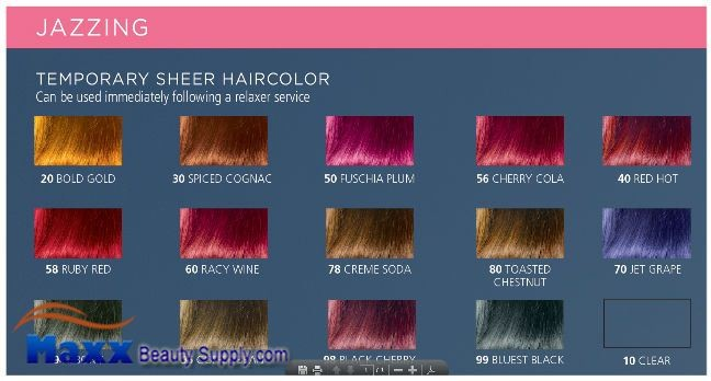 Clairol Jazzing Temporary Hair Color