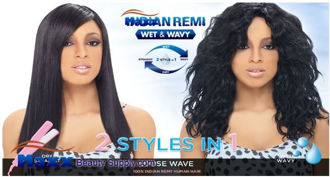 Harlem 125 Indian Remy Wet and Wavy