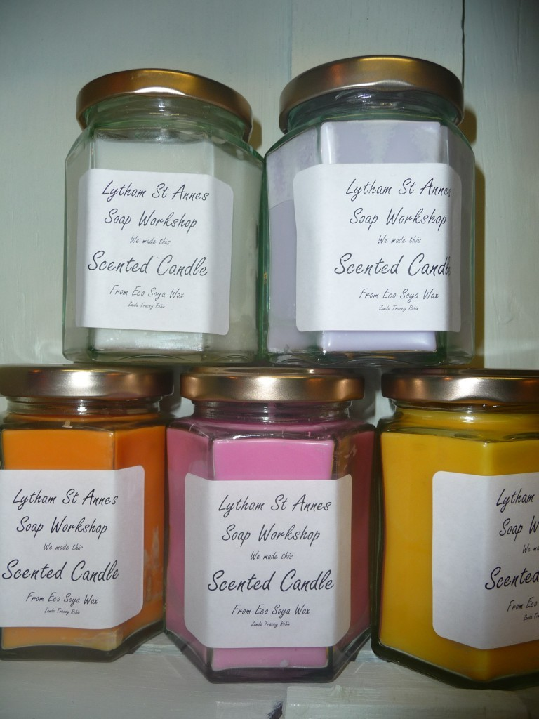 Amazing handmade scented jar candles eco soy wax 60hrs burn highly scented ebay - Burning scented candles home dangerous really ...