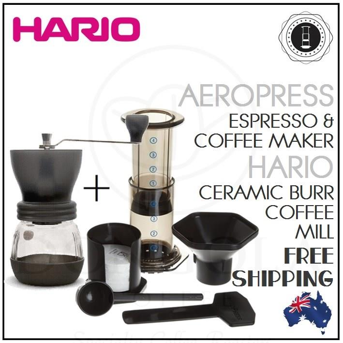 Aeropress Coffee Espresso Maker Instructions : AEROPRESS Coffee & Espresso Maker Manual Brewer Aerobie will suit Porlex Grinder 85276000800 eBay