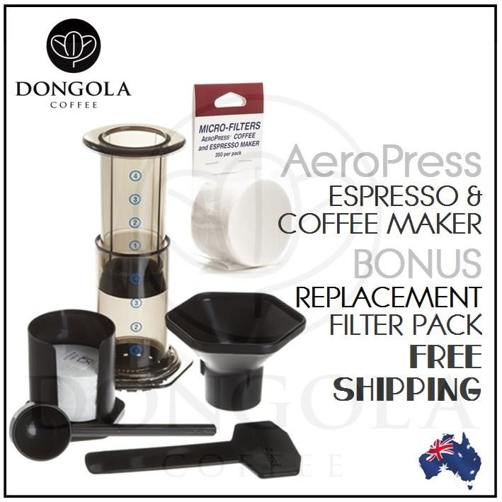 Aerobie Aeropress Coffee Maker Instructions : AEROPRESS Coffee & Espresso Maker Manual Brewer Aerobie will suit Porlex Grinder 85276000800 eBay