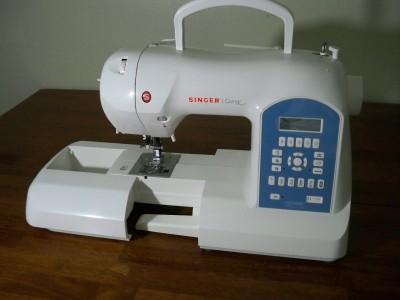 singer curvy sewing machine 8780