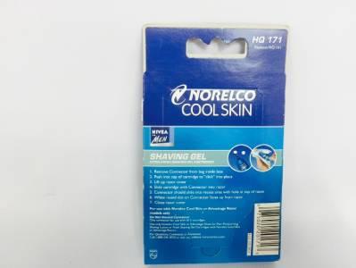 nivea philips norelco cool skin shaving gel cartridge hq. Black Bedroom Furniture Sets. Home Design Ideas
