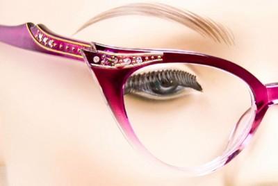 stylish frames for men's glasses  crystals fashion