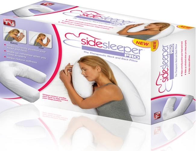 As Seen On Tv Side Sleeper Pro Pillow Review