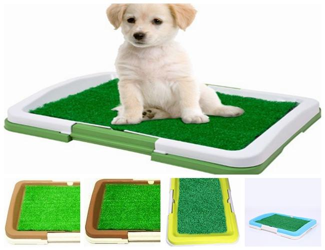 puppy potty pad indoor toilet tray 3tier choose from 5 colours ebay