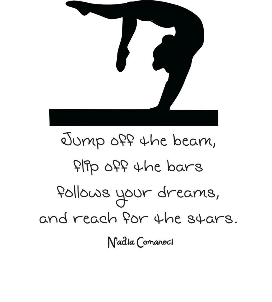 gymnastics quotes like success