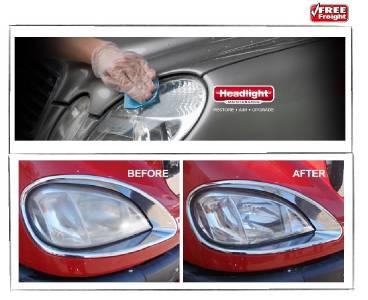 Headlight Lens Restoration KIT Polish Resurface Restore ...