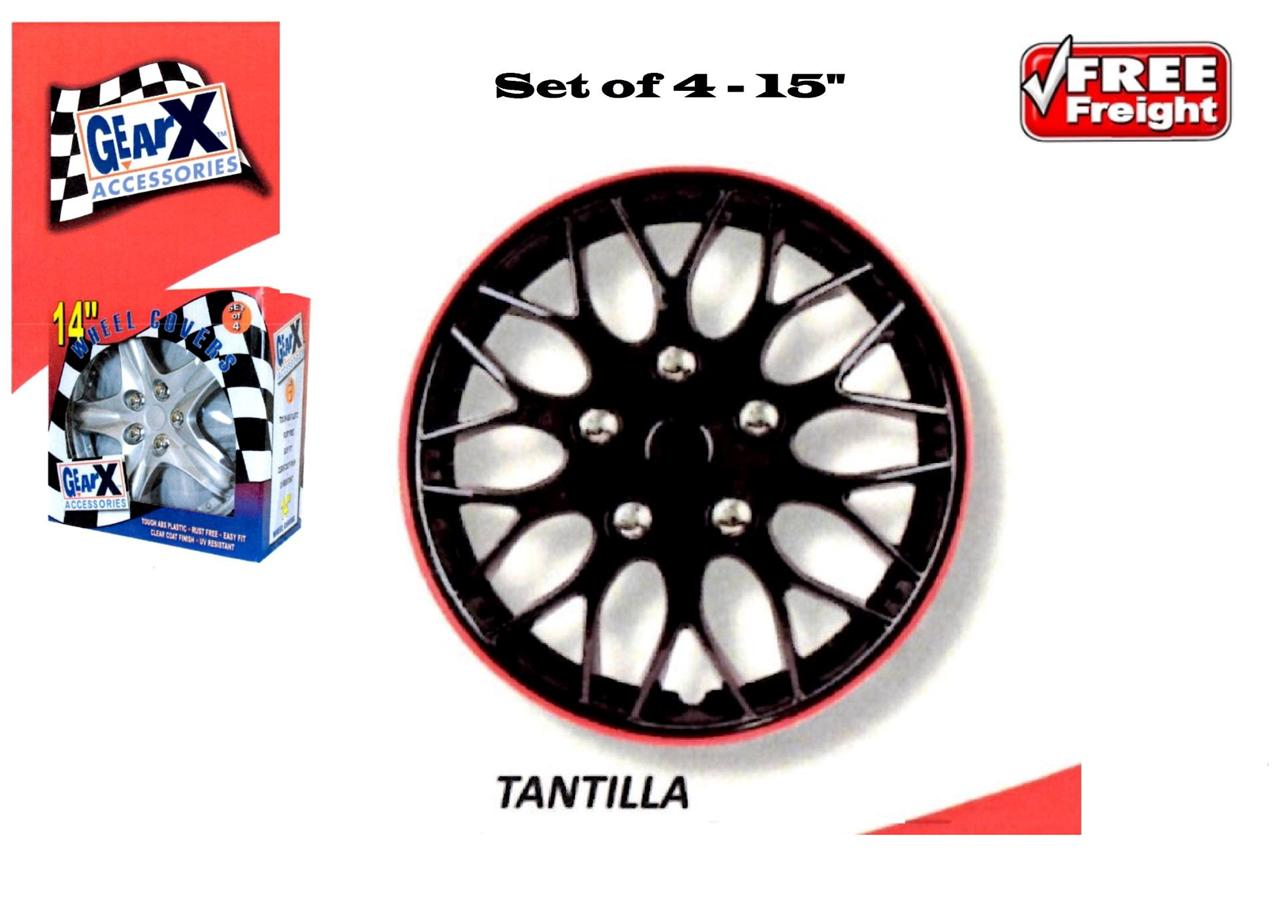 WHEEL-COVERS-TRIM-HUBS-PREMIUM-15-ICE-BLACK-RED-TWO-TONE-SET-OF-4-GXP970IBR