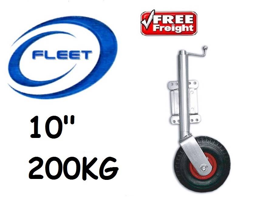 JOCKEY-WHEEL-SWING-AWAY-10-MAX-LOAD-200KG-PNEUMATIC-TYRE-TRAILER-CARAVAN-BOAT