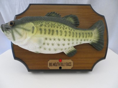 Big mouth billy bass singing fish dont worry be happy take for Big mouth billy bass singing fish