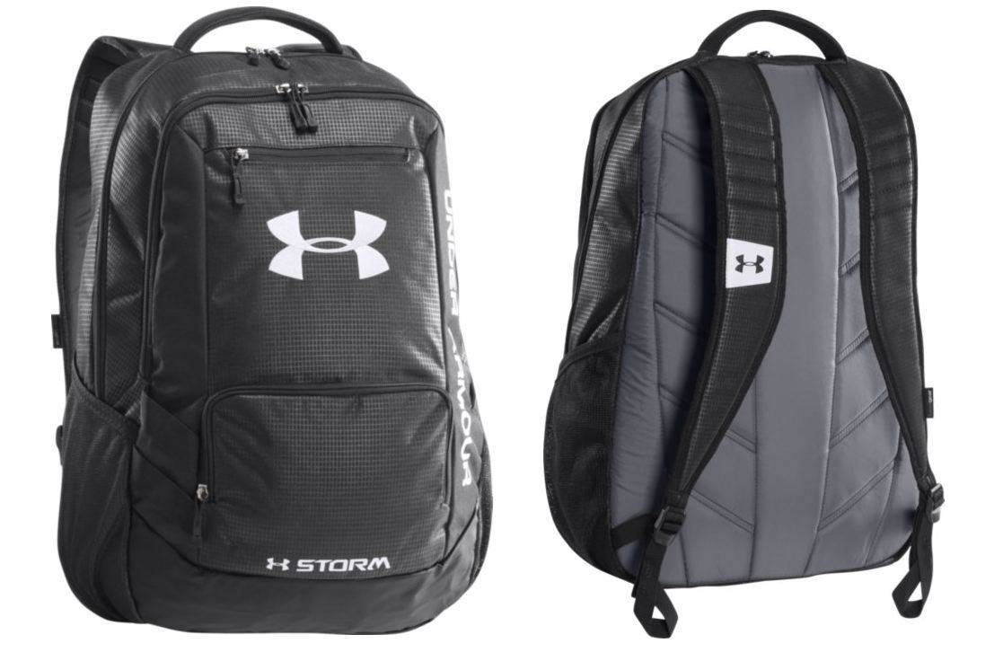 black under armour backpack