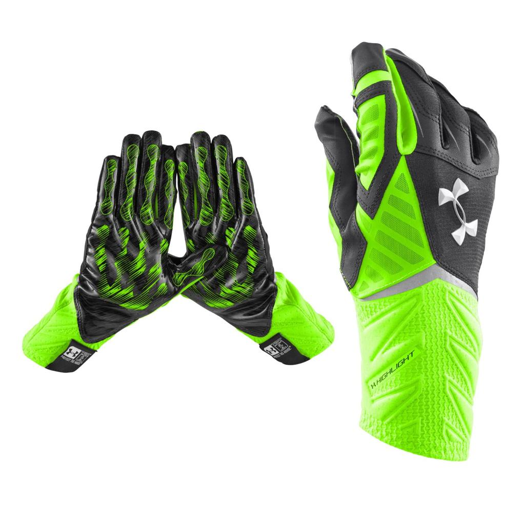 American Football Gloves Under Armour
