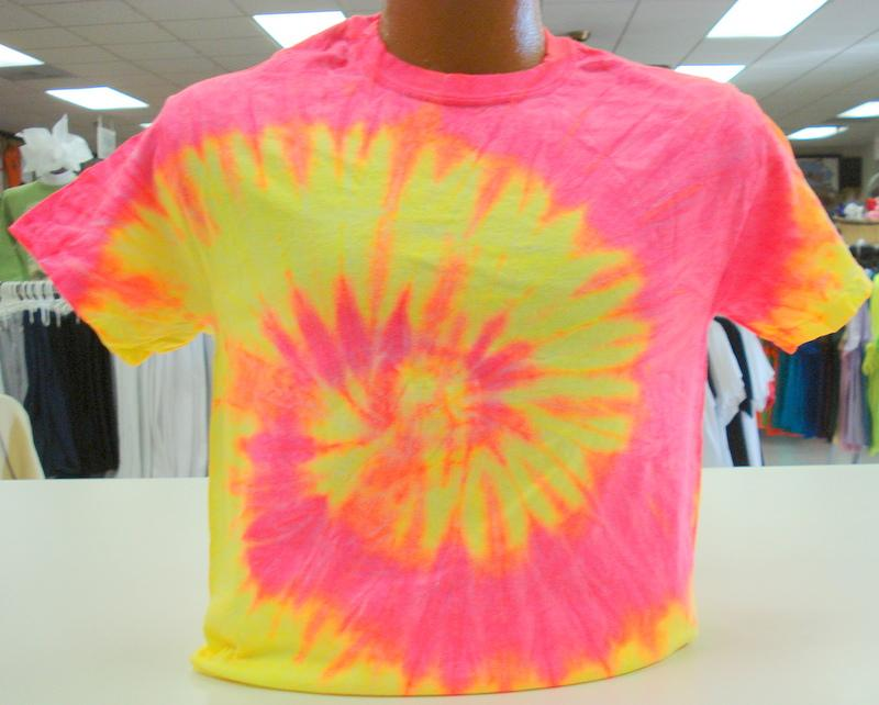 Youth tie dye crew neck t shirts ebay for How to dye a shirt red