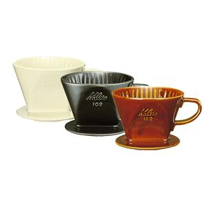 Kalita Pour Over Ceramic Porcelain Coffee Dripper 102 Black for 2-4 Cups eBay