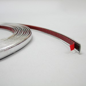 9mm chrome car styling moulding strip trim adhesive car boat van 3 metre ebay. Black Bedroom Furniture Sets. Home Design Ideas