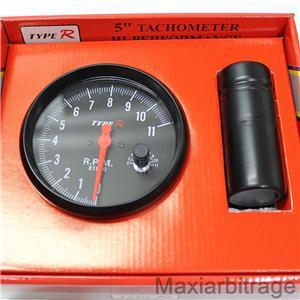 how to set saas rpm gauge shift light