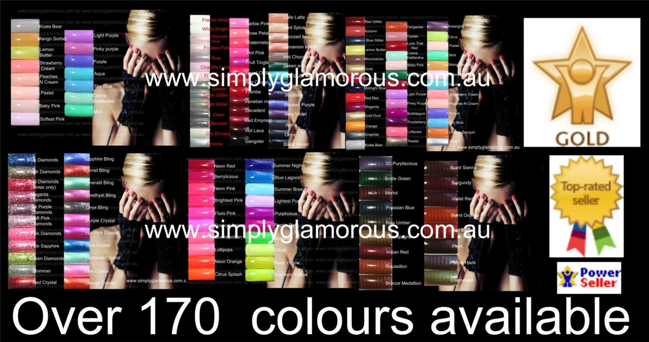 Pick-any-5-Addictive-UV-Gel-Nail-Polish-Needs-shellac-curing-lamp