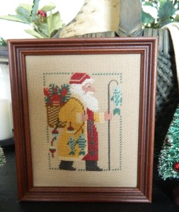 Handmade Primitive Needle Point Belsnickle