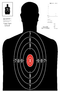 Details about 25 b 52 silhouette pistol rifle shooting targets