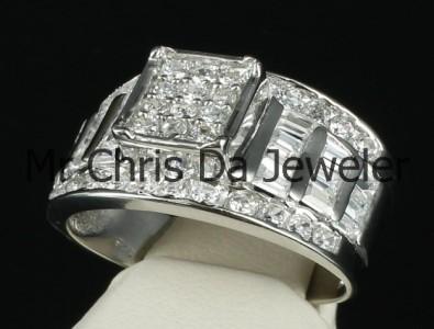 Ladies Wedding Rings 2 Carat Look Low Price Cubic Zirconia 14k Gold Finish 92