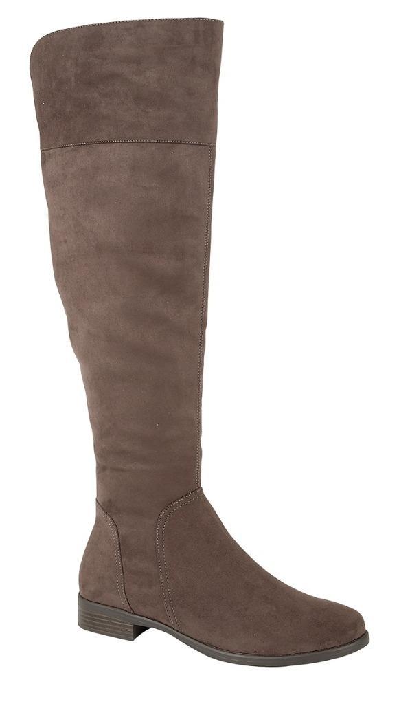brand new womens fashionable knee high flat sole
