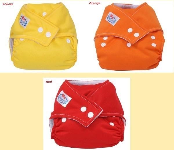 wholesale lot 5 pcs reusable baby cloth diaper nappy 5pcs in