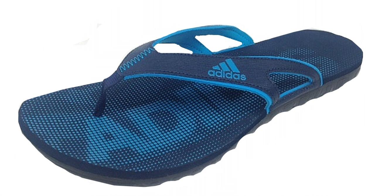Adidas Mens CALO 5 GR Flip Flop Shoes D66106 NAVY/BLUE UK ...