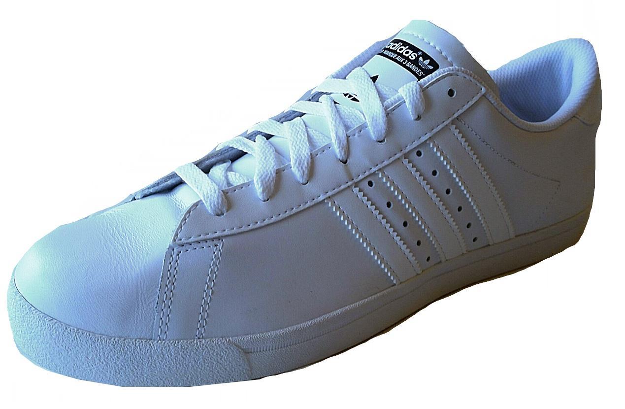 adidas mens greenstar trainer shoe q23033 white leather