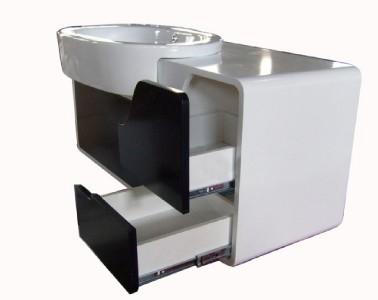 High Gloss Bathroom Furniture Sink Vanity Unit Wall Hang