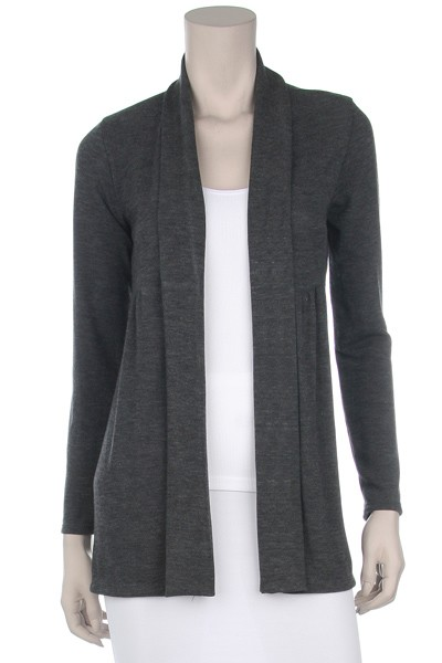 Black Cardigan. Black cardigans for men and women can be dressed up or down to create a number of looks and styles. For the office, on the weekends and even with evening wear, these sweaters can be the staple of a wardrobe. Brightly colored sweaters are also available to add to your wardrobe versatility.