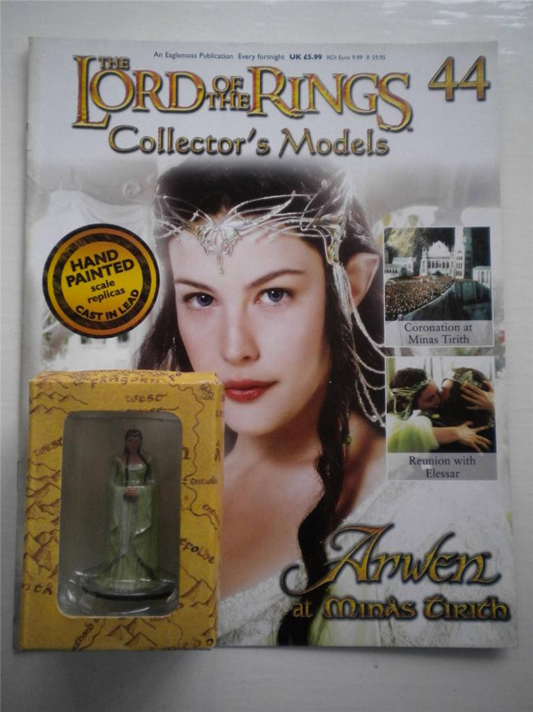 LORD-OF-THE-RINGS-EAGLEMOSS-COLLECTOR-039-S-MODEL-MAGAZINE-CHOOSE-YOUR-FIGURINE