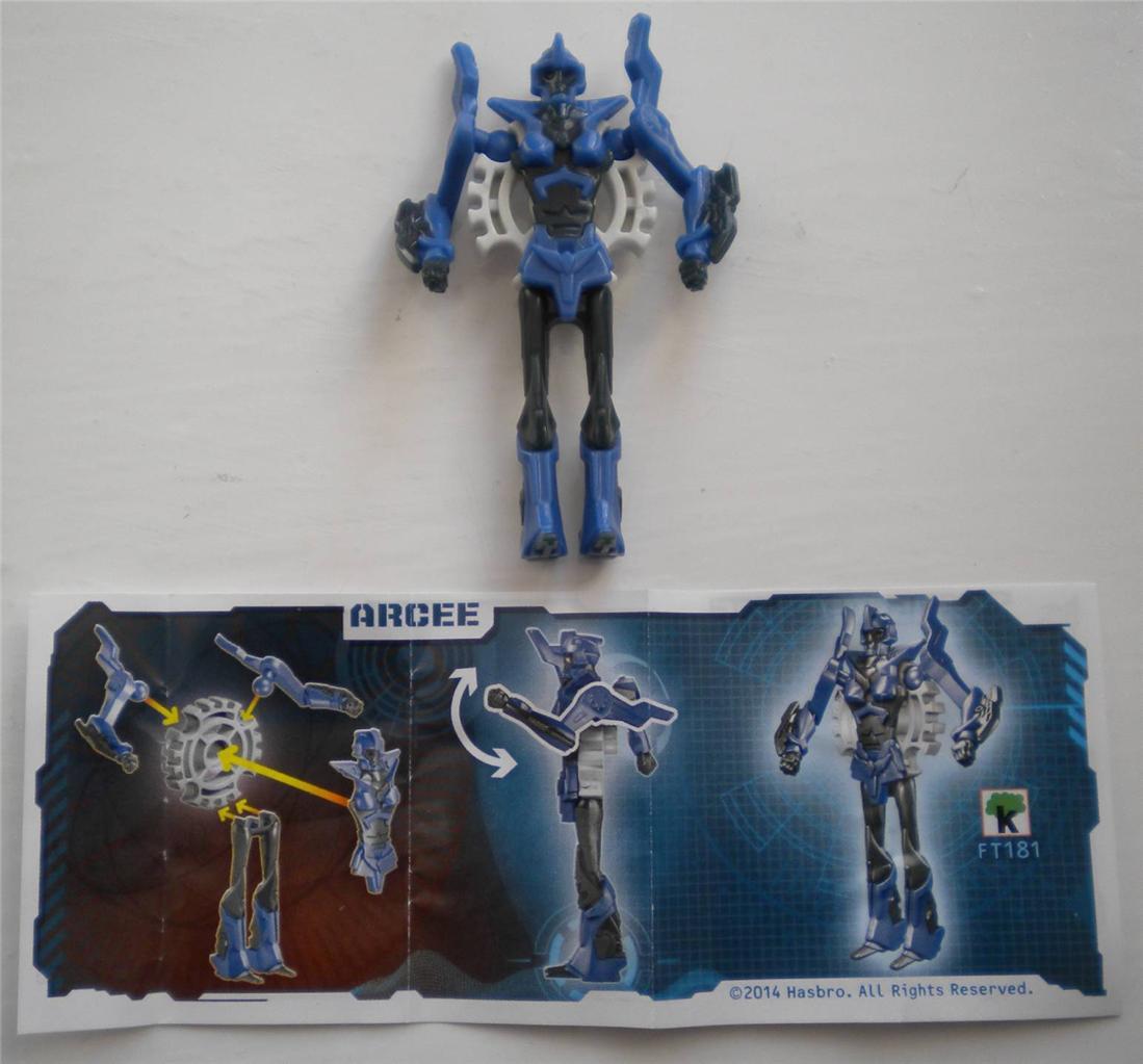 Kinder Surprise Egg Transformers Toys Optimus Prime