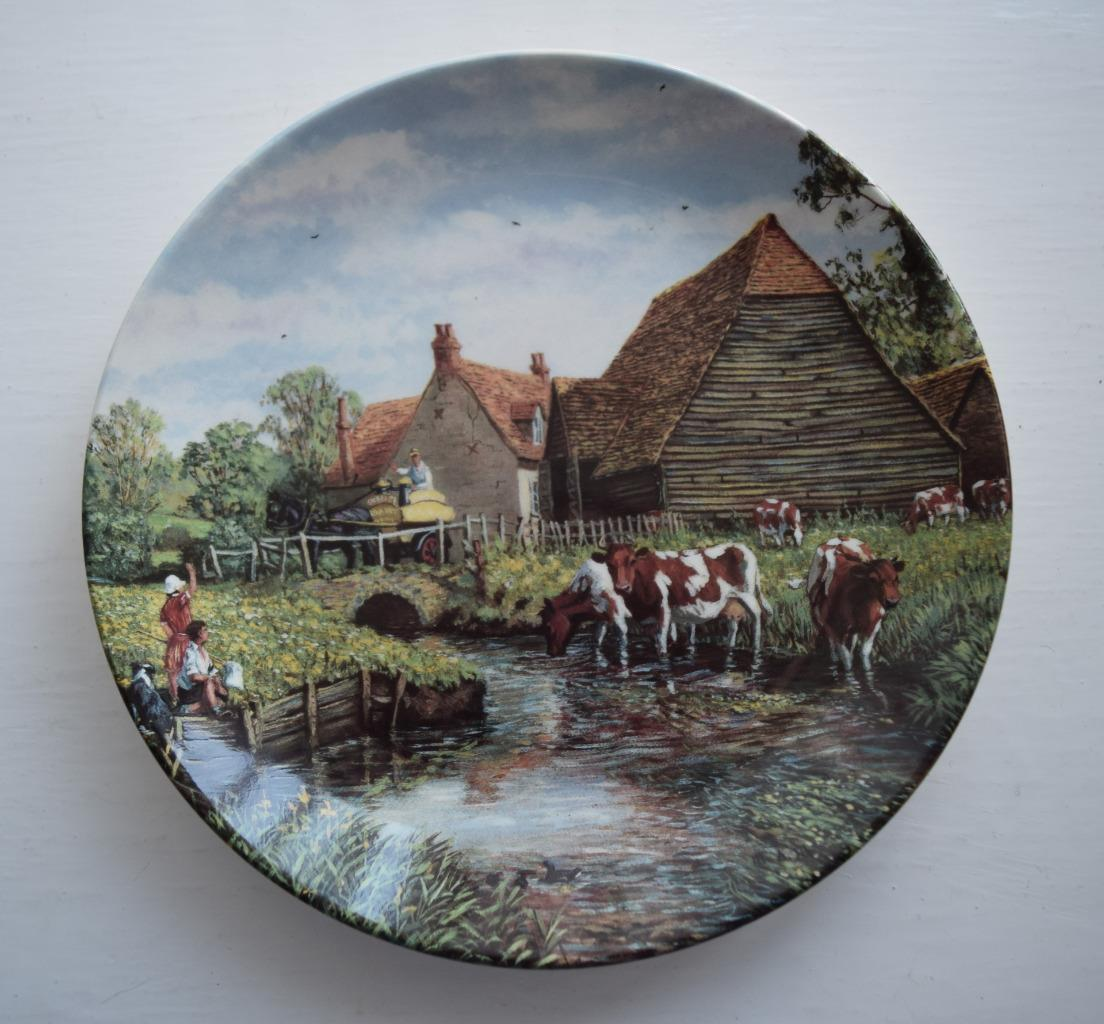 Danbury mint 39 the farm year 39 wedgwood collectors plate for The danbury