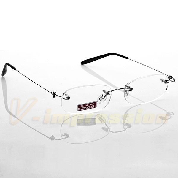 Flexible Lightweight Frameless Rimless Reading Glasses ...