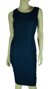 Kasper New Special Occasion Navy Blue Jacket Dress Suit Size 10P