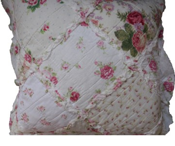 quilt plaid tagesdecke shabby chic 240 x 260 rosen. Black Bedroom Furniture Sets. Home Design Ideas