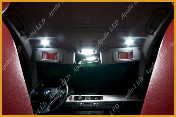 Vanity Mirror With Lights Car : 2x White 6441 LED Replace Bulbs Car Vanity Mirror Lights Sun Visor Lamp #22